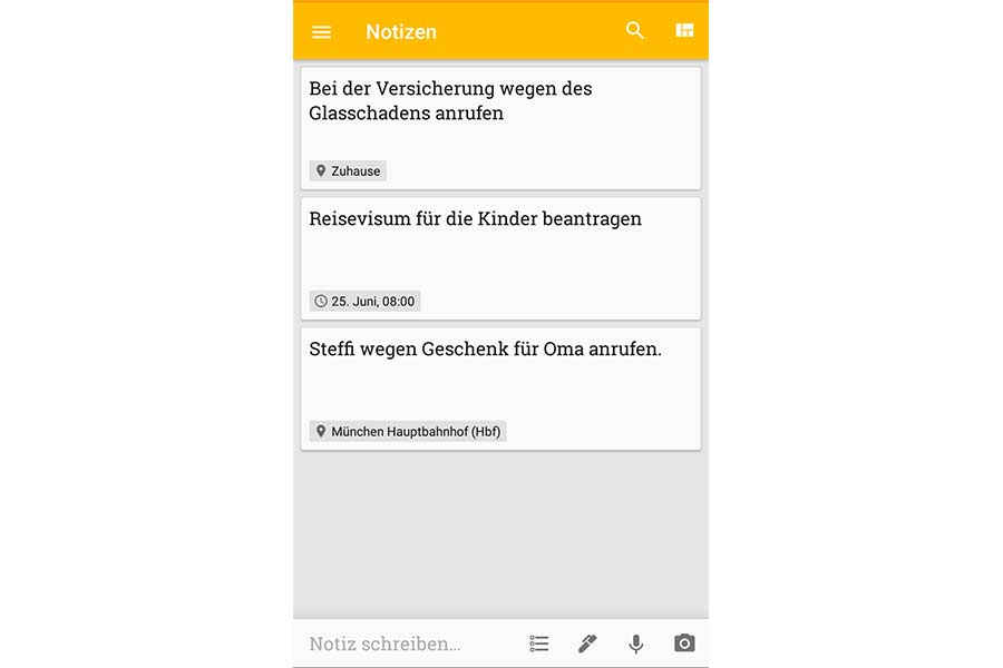Google Notizen Fett Schreiben