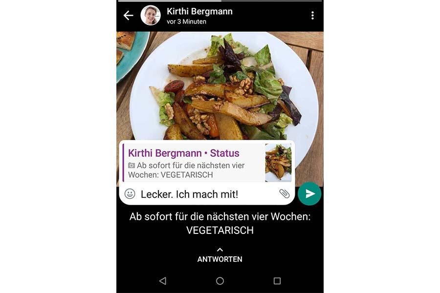 Sehen whatsapp statusmeldungen WhatsApp Sprüche
