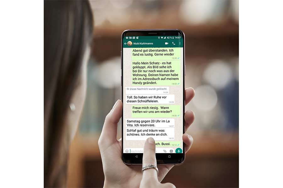 Namen lustige whatsapp chat WhatsApp