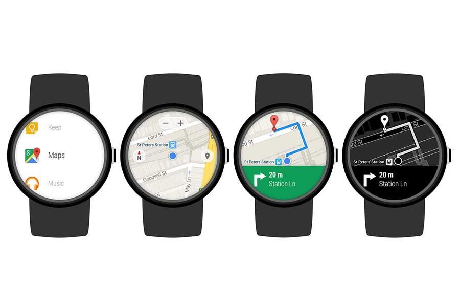 Google Maps Auf Einer Android Smartwatch Verwenden 111tipps De