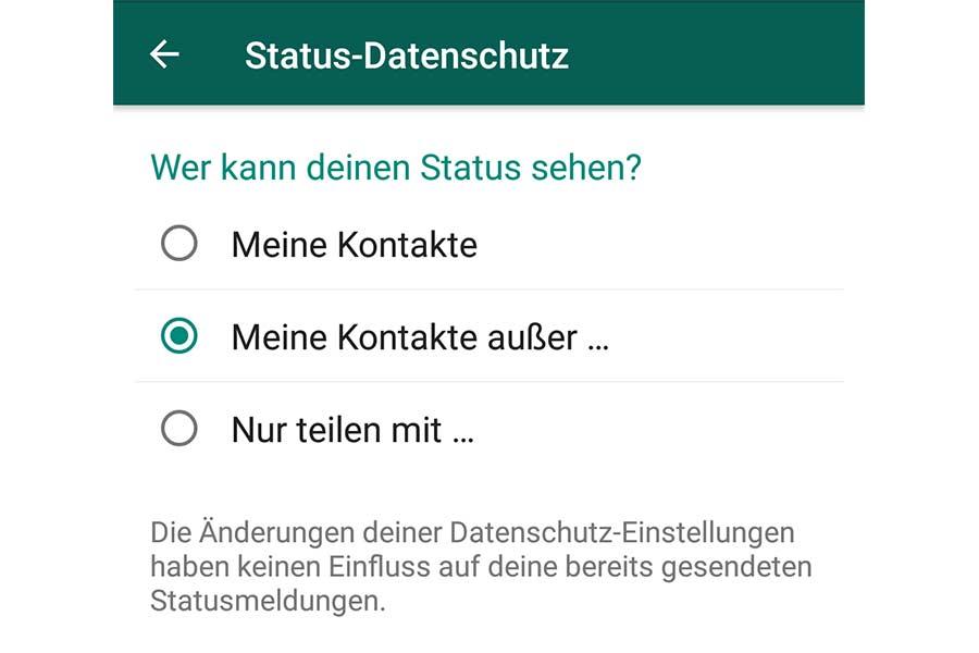 Whatsapp Sicher Nutzen Statusmeldungen Geheim Halten