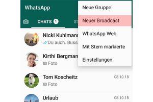 Whatsapp Kontaktliste Von Anderen Sehen
