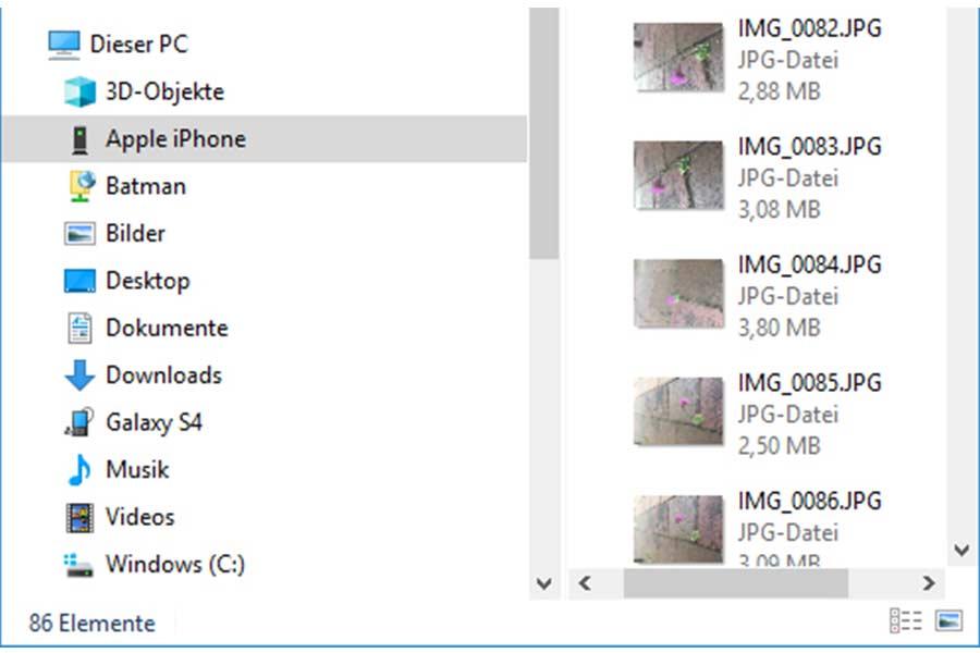 Fotos Von Handy Und Kamera Auf Den Pc Ubertragen 111tipps De