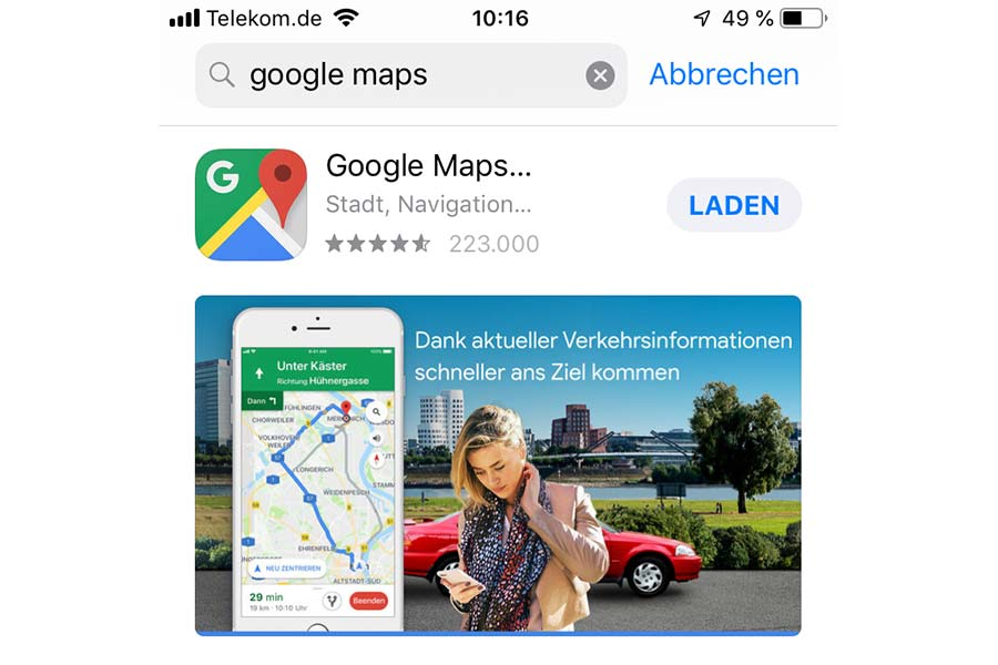 Google Maps Unter Ios Installieren 111tipps De