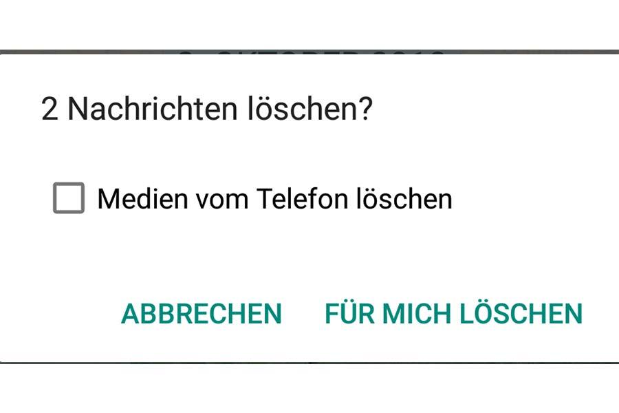 Whatsapp kontakte endgültig löschen blockierte Kontakte aus
